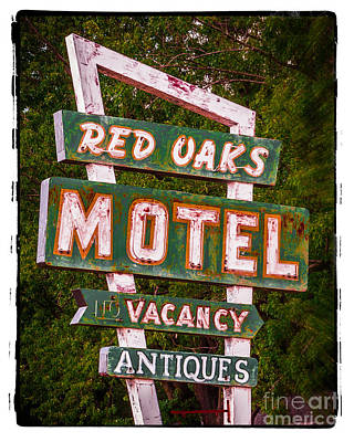 The Red Oaks Motel Original by Perry Webster