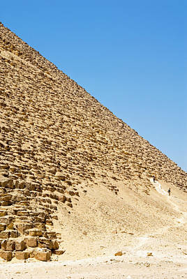 Large Format Photograph - The Red Pyramid At Dashur, Or Senefru by Nico Tondini