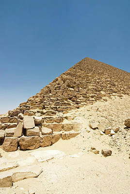 Large Format Photograph - The Red Pyramid At Dashur, Senefru Or by Nico Tondini