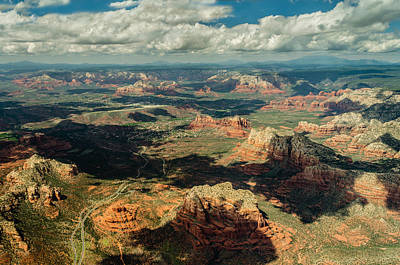The Red Rocks Of Sedona Art Print