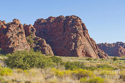 Photograph - The Red Rocks Of Utah by MaryJane Armstrong