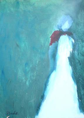 Painting - The Red Scarf by Andrea Friedell