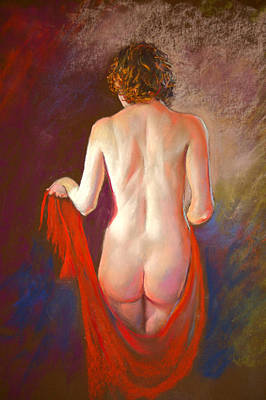 Painting - The Red Shawl by Lynda Robinson