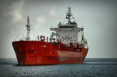 The Red Ship Art Print