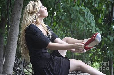 The Red Shoe Original by Sue Rosen