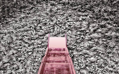 Red Slide Art Print by Kellice Swaggerty
