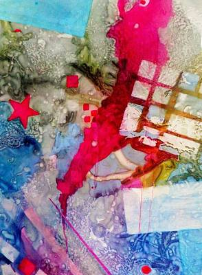 Boardroom Mixed Media - The Red Star by David Raderstorf