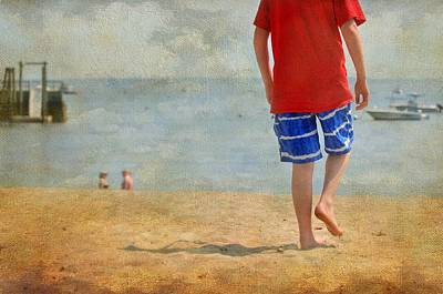 With Red Photograph - The Red Tee by Diana Angstadt