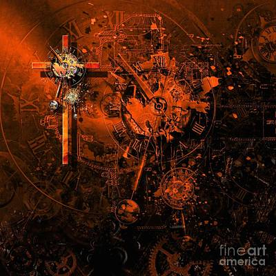Virus Digital Art - The Redemption Of The Technical And Digital World by Franziskus Pfleghart