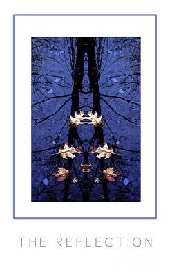 The Reflection Poster Art Print by Mike Nellums