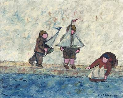 Painting - The Regatta by David Dossett