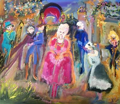The Regency Ballet Art Print by Judith Desrosiers