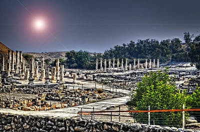 Photograph - The Remains Of Bet Shean by Ken Smith