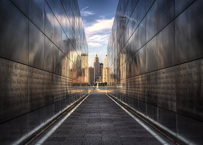 9-11 Wall Art - Photograph - The Remembered. by Rob Dietrich