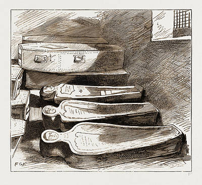 Circulation Drawing - The Removal Of The Remains Of Dr by Litz Collection
