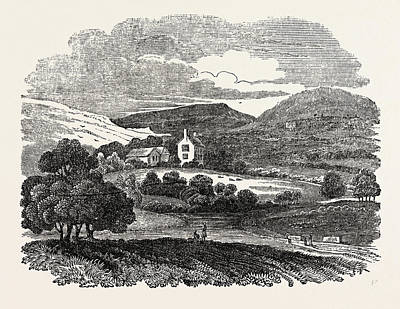 North Wales Drawing - The Residence Of Mrs by Litz Collection