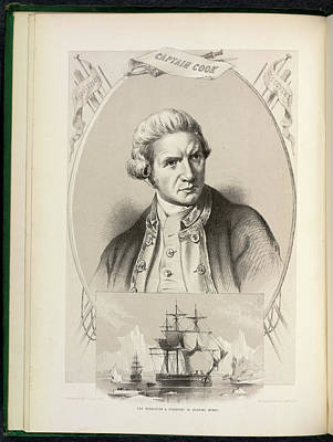 Portaits Photograph - The Resolution And Discovery by British Library
