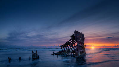Peter Iredale Photograph - The Rest Is Silence by Dan Mihai