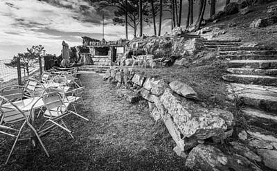 Photograph - The Restaurant In The Rocks by Gary Gillette