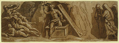 The Resurrection Art Print by Carpi, Ugo Da (c.1480-1520/32), Italian