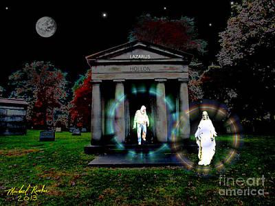 The Resurrection Original by Michael Rucker