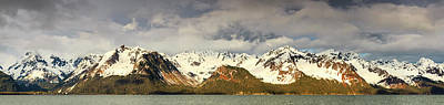 The Resurrection Mountains Art Print by Panoramic Images