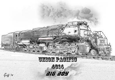 The Resurrection Of Big Boy 4014 Art Print