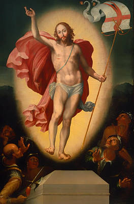 Christian Artwork Painting - The Resurrection Of Christ by Mountain Dreams