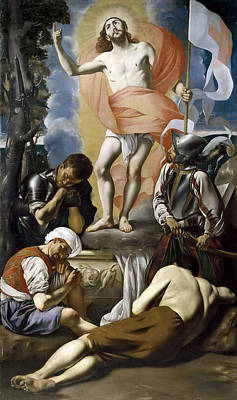 The Resurrection Of Christ Art Print by Juan Bautista Maino