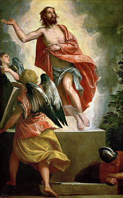The Resurrection Of Christ Painting - The Resurrection Of Christ by Paolo Veronese