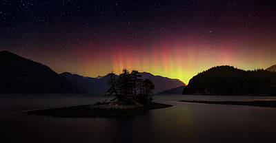 Bc Photograph - The Return Of The Aurora Borealis by Alexis Birkill