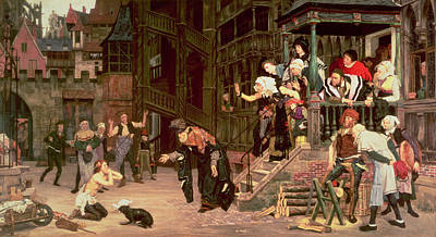 Photograph - The Return Of The Prodigal Son, 1862 Oil On Canvas by James Jacques Joseph Tissot