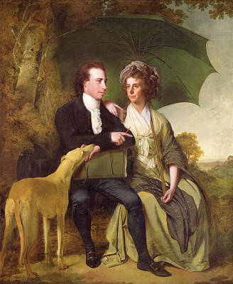 The Rev. And Mrs. Thomas Gisborne, Of Yoxhall Lodge Art Print by Litz Collection