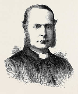 The Rev. Canon Ernest Roland Wilberforce Art Print