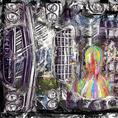 Surrealism Mixed Media Rights Managed Images - The Reveal Royalty-Free Image by Russell Pierce