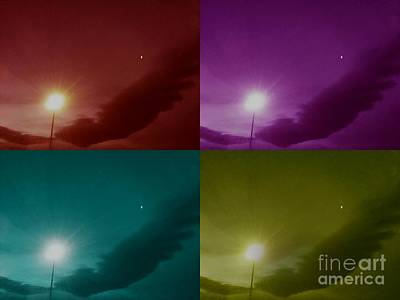 Photograph - The Revealing Of Sun And Moon Series by Angela J Wright