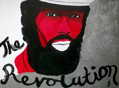 Must Art Painting - The Revolution by Janeen Stone Morehead