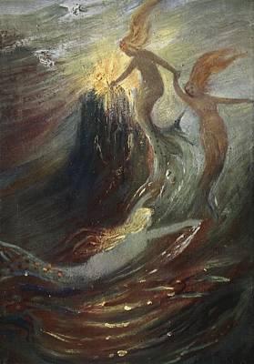 The Rhine Gold, 1906 Art Print