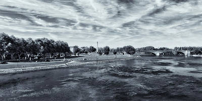 Photograph - The Rhone by Roberto Pagani