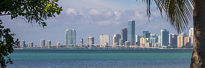 Photograph - The Rickenbacker And Miami by Ed Gleichman