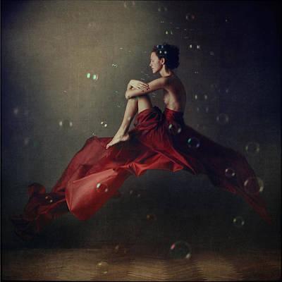 Fairy Tale Photograph - The Rider by Anka Zhuravleva