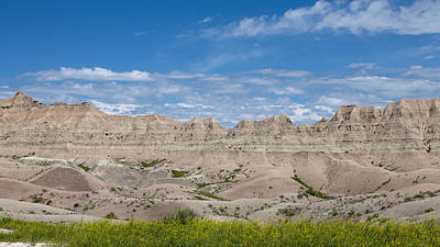Photograph - The Ridge At The Badlands by John M Bailey