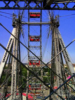 Riesenrad Photograph - The Riesenrad by Eclectic Captures
