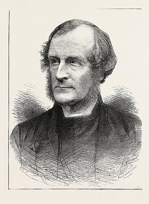 Religious Art Drawing - The Right Rev. George Augustus Selwyn by English School