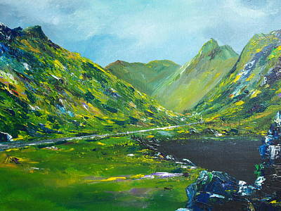 Painting - The Ring Of Kerry by Conor Murphy