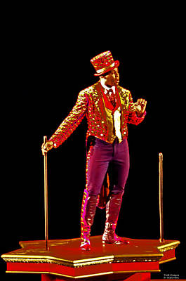 Photograph - The Ringmaster by Teresa Blanton