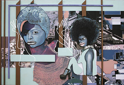 Grafitti Mixed Media - 'the Rioters Cell' Sold by Andy Waudby