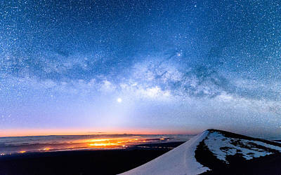 Photograph - The Rise Of The Milky Way 1 by Jason Chu