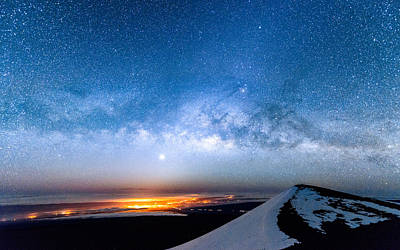 Photograph - The Rise Of The Milky Way 2 by Jason Chu