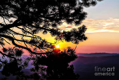 The Rising Sun-2 Art Print by Nancy Marie Ricketts